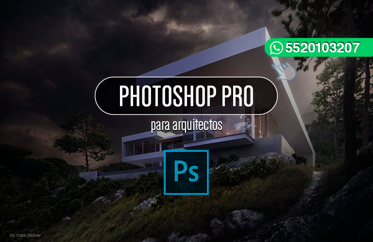 Retoque digital photoshop profesional for Curso arquitectura software